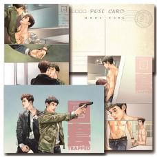 《history3圈套》飛唐同人明信片三張一套雙面印刷