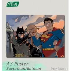 Silent《A3 poster-Superman/Batman》