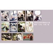 Leila《囧囧系列明信片組》12款圖一組