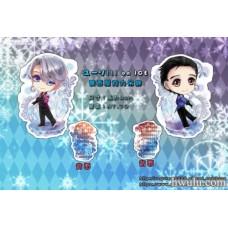 Requiem-YURI!!! on ICE 雙面造型壓克力鑰匙圈