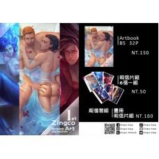 Zingco Kang《ZingcoArt-I Artbook》原創+錘基 全彩畫冊